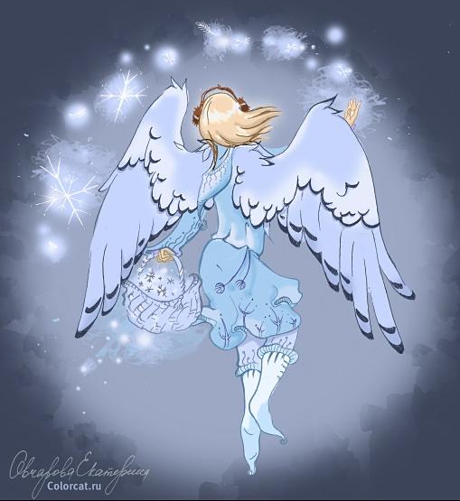 день снежных ангелов картинки потолок доходит основания